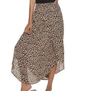 Joe B Cheetah Print Skirt